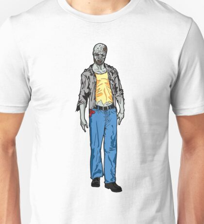 Undead Zombie Man Drawing Unisex T-Shirt