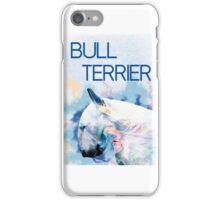 Keep calm, hug a bull terrier  iPhone Case/Skin