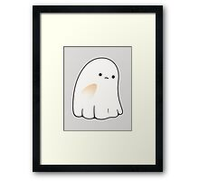 Sad ghost Framed Print