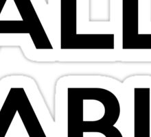 YALLA HABIBI Sticker