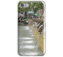 Fountain at Copley Place Boston iPhone Case/Skin