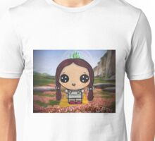 Dorothy on the Yellow Brick Road Unisex T-Shirt