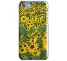 Susans in the Wind iPhone Case/Skin