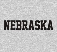 Nebraska Jersey Black by USAswagg2