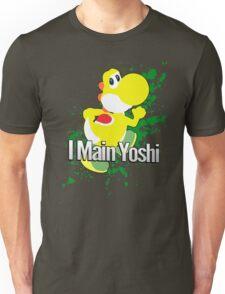 I Main Yoshi (Yellow Alt.) - Super Smash Bros. Unisex T-Shirt