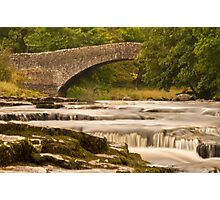 River Ribble at Stainforth Photographic Print