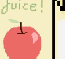 Apple Juice Box Sticker
