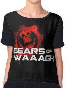Gears of Waaagh Chiffon Top