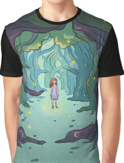 Firefly forest Graphic T-Shirt