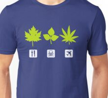 Different Types of Weeds (Shapes) Unisex T-Shirt