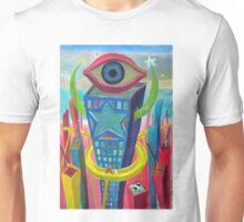 Ciudad y ojo 2 por Diego Manuel Unisex T-Shirt