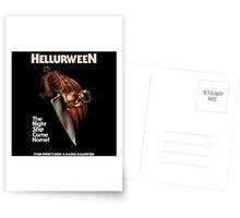 Hellurween Postcards