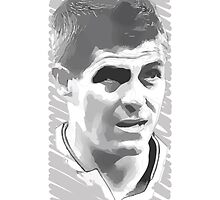 World Cup Edition - Steven Gerrard / England by Milan Vuckovic