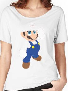 Mario in red Women's Relaxed Fit T-Shirt