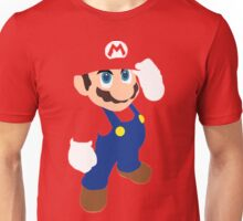 Mario in red Unisex T-Shirt