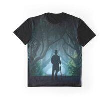Morning visit at Dark Hedges Graphic T-Shirt