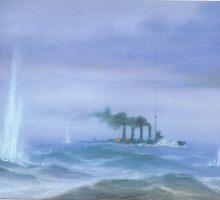 WW1 Jutland Battleship by Neil Thornton