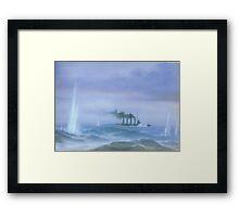 WW1 Jutland Battleship Framed Print