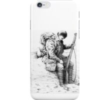 WW1 British Soldier 'Weary Tommy' iPhone Case/Skin