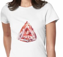 Imperial Topaz Watercolor Illustration Womens Fitted T-Shirt
