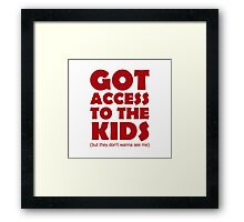 Partridge Kids Framed Print