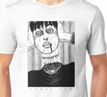 Tomio: Red turtleneck - Junji Ito Unisex T-Shirt
