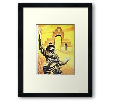 WW1 Somme memorial 1916 centenary British Thiepval Framed Print