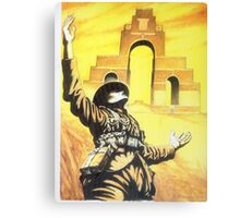 WW1 Somme memorial 1916 centenary British Thiepval Canvas Print