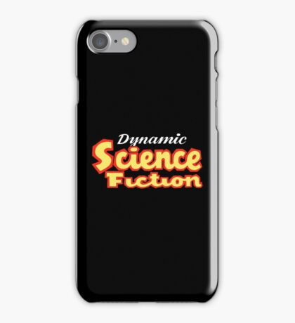 Dynamic Science Fiction vintage iPhone Case/Skin