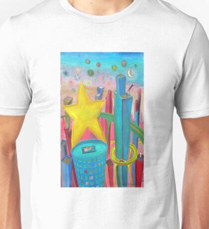 Ciudad Estrella por Diego Manuel  Unisex T-Shirt