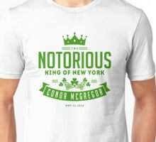 Conor McGregor - King of NY Unisex T-Shirt