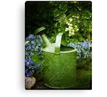 Johns Watering Can  Canvas Print