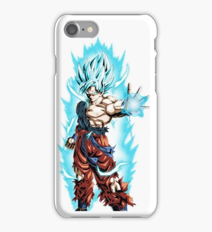 Son Goku Super Saiyan Blue iPhone Case/Skin