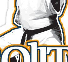 Brojitsu 1979. Bujitsu, Jujitsu, With Funk. Sticker