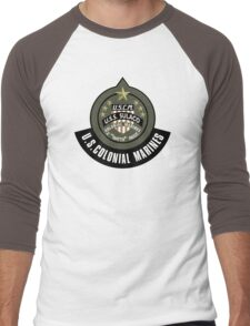 Aliens US Colonial Marines patch Men's Baseball ¾ T-Shirt