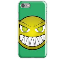 Scary face phone case iPhone Case/Skin