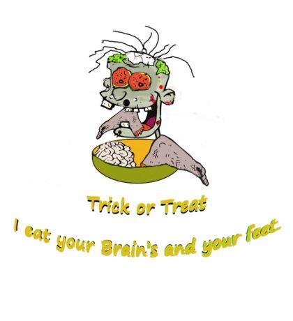 Happy Halloween Trick or treat Sticker