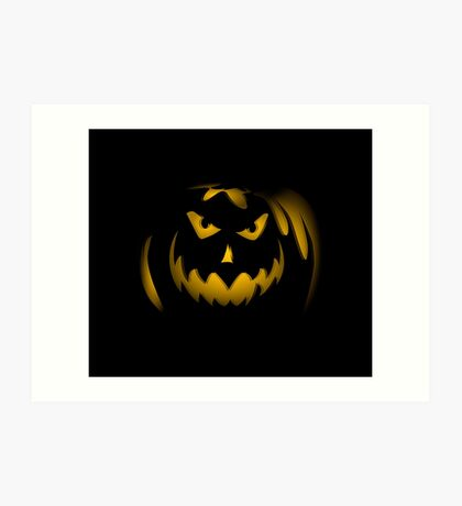 Scary face pumpkin phone cases cell phone cases phone covers custom phone cases cell phone accessories Art Print