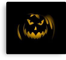 Scary face pumpkin phone cases cell phone cases phone covers custom phone cases cell phone accessories Canvas Print