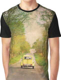 Yellow 2CV Graphic T-Shirt