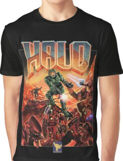 Halo-Doom Graphic T-Shirt