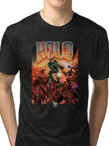 Halo-Doom Tri-blend T-Shirt