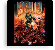 Halo-Doom Canvas Print