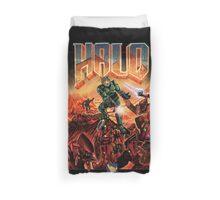 Halo-Doom Duvet Cover