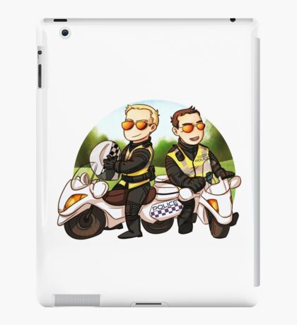 Motor cops iPad Case/Skin