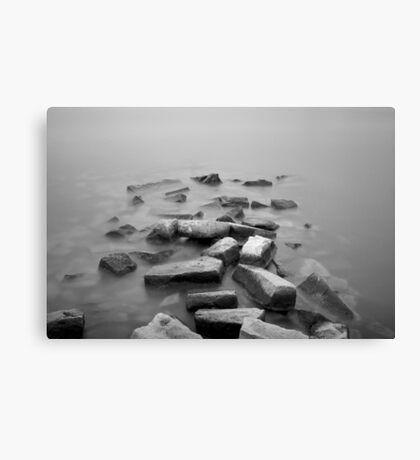 Sakonnet River I BW Canvas Print