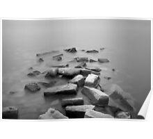 Sakonnet River I BW Poster