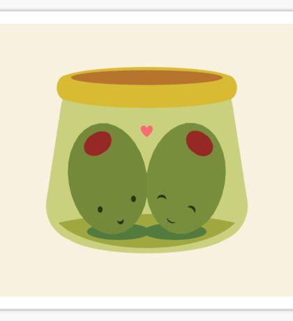 Olives in Love Sticker