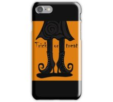 Halloween - witch boots iPhone Case/Skin
