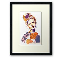 Tangerine Violet Framed Print